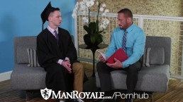 ManRoyale Tight ASSHOLE fucked For A Better Grade