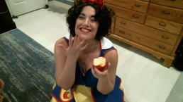 Cordie King as Snow White