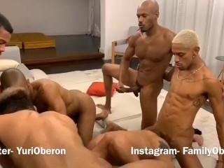 Brazilian orgy...