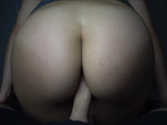 Young College Slut in Yoga Pants Gets Her Thick Ass Pounded