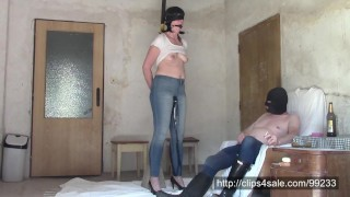 Perverse wet jeans games of married couple (SAMPLE)