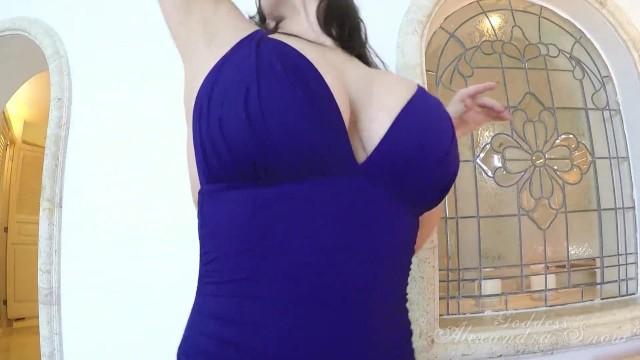 Alexandra Snow Boobs POV 12