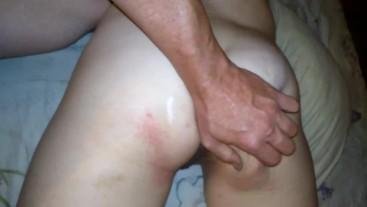 Bum spank