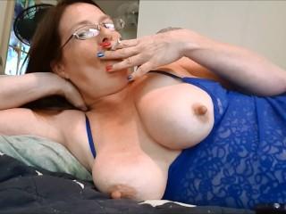 Sexy Redhead Smoking For You!!