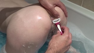 Shaving Hairy Pussy Japanese