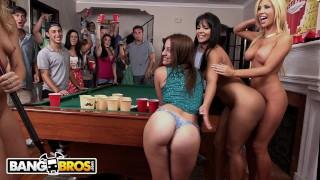 BANGBROS - Rose Monroe, Tasha Reign & Zoey Monroe Raid College Dorm
