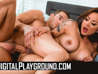 Digital Playground - Busty asian housewife Kaylani Lei loves anal