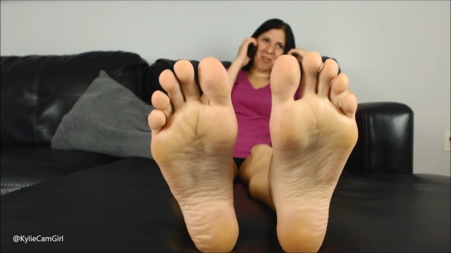 LICK THESE SOLES CLEAN - AVN Stars @kyliejacobsx 24