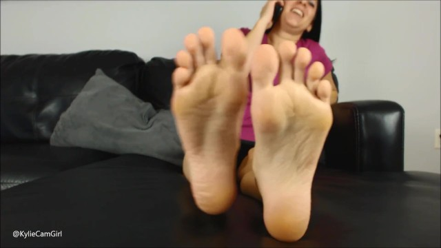 LICK THESE SOLES CLEAN - AVN Stars @kyliejacobsx 7