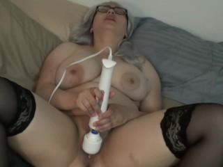 Vibrating to Orgasm