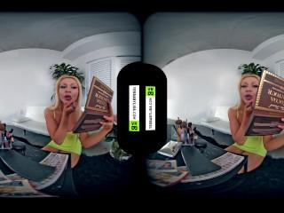 VR 3D 180 4K – BIG TITS POV VOYEUR – FERISH SEXY BIMBO DOLL XL LIPS GIRL HD