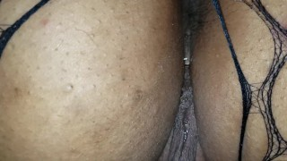 Getting mommys asshole ready for anal