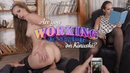 VRHUSH Kinuski gave her man something worth filming