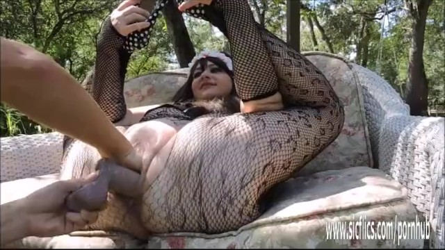 Extreme Double Fist and Dildo Fucked BBW 13