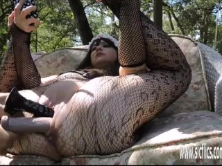Extreme Double Fist and Dildo Fucked BBW sex videos com