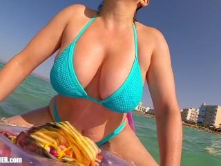 Ocean udders britneys ultimate bouncy boobs supercut big...