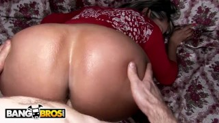 BANGBROS - Colombian MILF Sandra Gets Her Big Ass Banged By Brick
