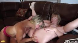 Sara Jay And Sara jaymes Lesbian HD