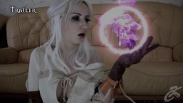 Ciri. Fucked by magic. KsuColt. Cosplay, Horse, DP, creampie, FuckMachine.