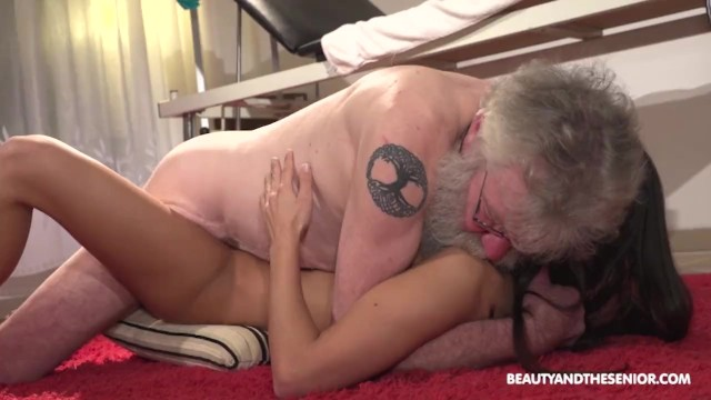 Nude senior citizen Fresh pussy rejuvenates old citizens old cock