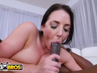 BANGBROS – Busty Angela White Takes A Big Black Cock In Her Ass