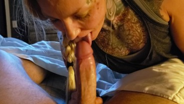 FIRST TIME SUCKING COCK ON CAMERA