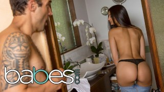 BABES - Petite babe Eliza Ibarra goes the extra mile to sell