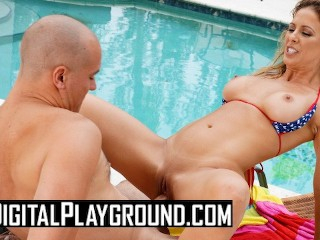 Digital Playground - Hot milf Cherie Deville takes big dick outdoors