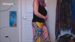 Lily Sage Farts in Tights