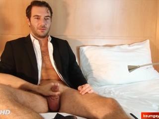 Straight hetero sale agent serviced his...