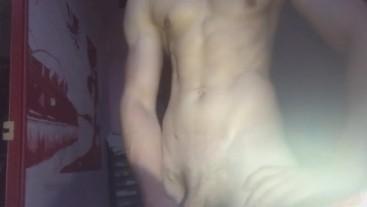 Séance Muscu Qui Finit En Grosse Ejac ( Français Muscler )