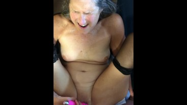 Hot MILF Gets Fucked With Big Dick Mature Granny 60 year old