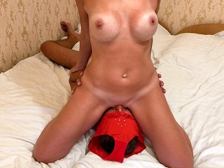 The magic of facesitting milf gets fucked in...