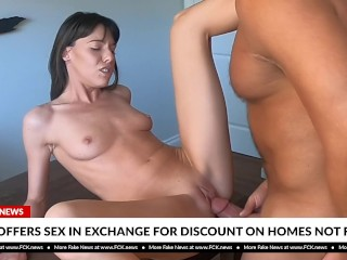 FCK News – Agent Offers Sex In Exchange For Discount On Homes