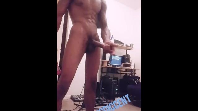 Dennis menace porn Stroking in the studio