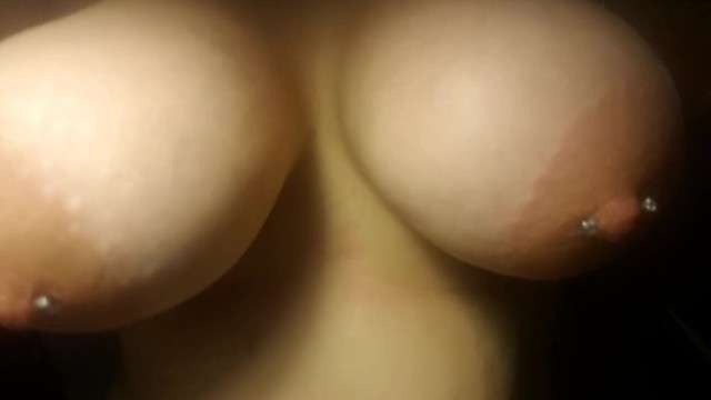 Big Natural Pierced Titties POV 17