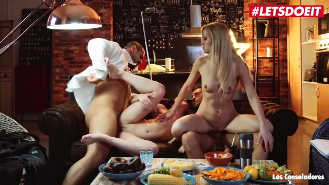 LETSDOEIT - Swinger Couples Fuck Hard On The Couch 13