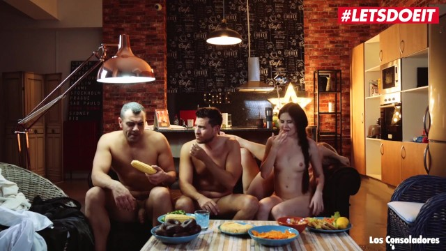 LETSDOEIT - Swinger Couples Fuck Hard On The Couch 28