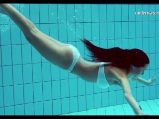 Nikita Mirzani - Hungarian teen Szilva underwater naked