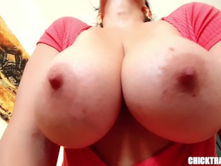 nikita - MORE Tittydrops! Britney Swallows NEW Ultimate HEAVY BOOBS DROP Compilation
