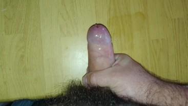 cumshot on table, solo masturbation jackoff