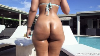 BANGBROS - Latin Babe Ava Sanchez Gets Her Big Ass Fucked By Peter Green
