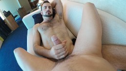 Hairy Jock Cruising A Public Park For Young Bottom To Take His Huge Cock