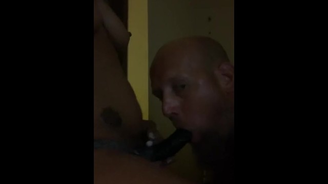 Giving wife a blow job 17