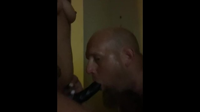 Giving wife a blow job 32