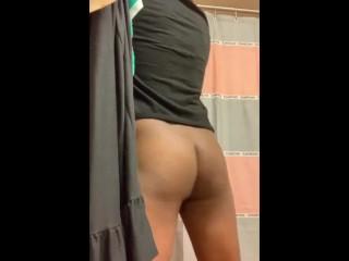 Sissy Twerking Fat Ass on Video