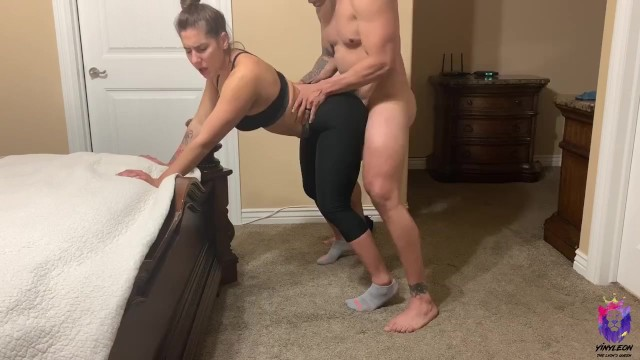 Hot young latina getting fucked hard - Yoga instructor gets fucked by one of her students