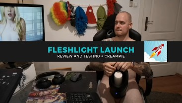 Fleshlight launch full review with testing + cum 1080p60fps