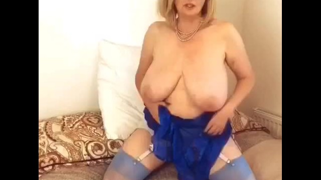 Big tit negligee - Annabels electric blue sheer negligee, see the next part on my onlyfans