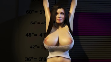 5'2 Short Girl Trapped with Huge Growing Boobs - Sexy Teen Breast Expansion